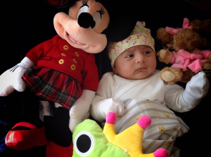 Our daughter Nitara Bagga is one month today