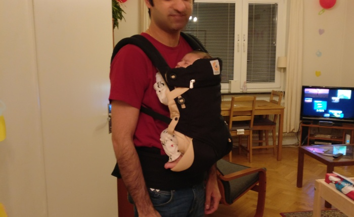 Why we bought a Baby Carrier and you should too!
